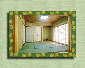 เสื่อทาทามิทำจากต้นหญ้าอิกุสะ